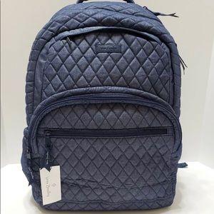 Vera Bradley Essential Large Backpack Moonlight